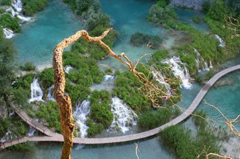 Der Nationalpark Plitvicer Seen (Plitvička jezera)