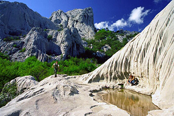 Le parc national de Paklenica